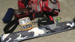 チヌ(黒鯛)ヘチ釣りの仕掛けや道具は落とし込みベルトに装備しよう